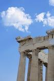 Parthenon Athene Royalty-vrije Stock Afbeelding