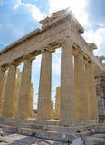 Parthenon Athene Stock Foto's