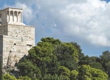 Parthenon in Athene Royalty-vrije Stock Afbeeldingen