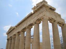 Parthenon, Athene, Griekenland stock afbeelding
