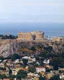 Parthenon on Athenian Acropolis, Greece royalty free stock image