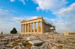 Parthenon Athens. Parthenon on the Acropolis, Athens Stock Photos