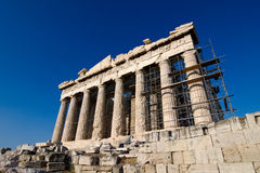 The Parthenon at Athens Royalty Free Stock Images