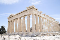Parthenon in Athens Stock Images