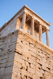 The Parthenon, in Athens Akropolis, Greece, EU Stock Image