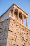 The Parthenon, in Athens Akropolis, Greece, EU Stock Image
