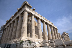 The Parthenon in Athens Greece. The ruins of Parthenon. Athens Greece stock photos