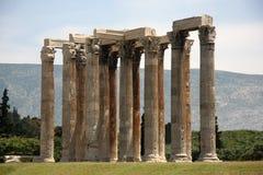Parthenon in Athens Greece Stock Image
