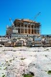 Parthenon in Athens - Greece Royalty Free Stock Image
