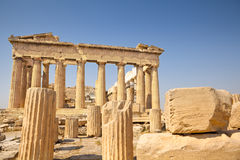 Parthenon in Athens, Greece Stock Image