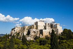 The Parthenon in Athens Greece Royalty Free Stock Photography