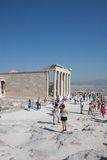 Parthenon in Athens, Greece. Ruins of Parthenon in Athens, Greece Royalty Free Stock Photography