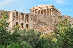 The Parthenon in Athens, Greece. Stock Photography