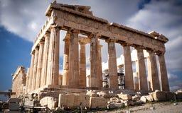 Parthenon auf Acropoli lizenzfreies stockbild