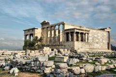 Parthenon auf der Akropolise in Athen, Griechenland Lizenzfreies Stockbild