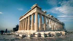 Parthenon auf der Akropolise von Athen, Griechenland Lizenzfreies Stockbild