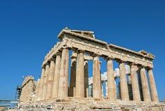 Parthenon av Aten, GREKLAND Arkivfoton