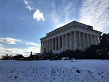 The Parthenon in Centennial Park, in Nashville, Tennessee royalty free stock photos