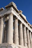 Parthenon columns Royalty Free Stock Image