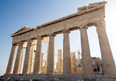 Parthenon de Atenas fotografia de stock