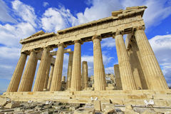 Parthenon de Atenas, Greece fotografia de stock royalty free