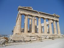 Parthenon-Famous ancient monument in Athens, Greece! stock photos