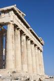 Parthenon in der Akropolise Lizenzfreies Stockfoto
