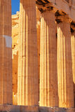 Parthenon an der Akropolise, Athen Stockfotos