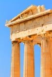 Parthenon an der Akropolise, Athen Stockbilder