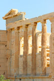 Parthenon an der Akropolise, Athen Stockfoto