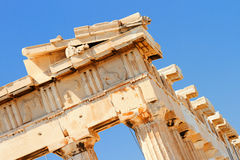 Parthenon an der Akropolise, Athen Lizenzfreie Stockfotos