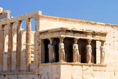 Parthenon an der Akropolise, Athen Stockbild