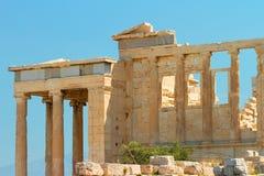 Parthenon an der Akropolise, Athen Lizenzfreies Stockfoto