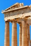Parthenon an der Akropolise, Athen Lizenzfreie Stockfotografie