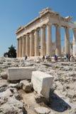 Parthenon an der Akropolise in Athen, Griechenland Lizenzfreie Stockfotos