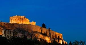 Parthenon an der Akropolise von Athen, Griechenland Lizenzfreie Stockfotografie