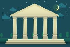 Parthenon di Athen Fotografia Stock Libera da Diritti