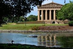 Parthenon em Nashville Foto de Stock