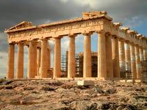 Parthenon en Atenas Imágenes de archivo libres de regalías