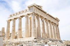 Parthenon en Atenas imagenes de archivo