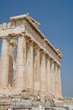 Parthenon en la acrópolis, Atenas Foto de archivo libre de regalías