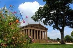 Parthenon en Nashville Imagen de archivo libre de regalías
