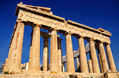 Parthenon is forever young Stock Image
