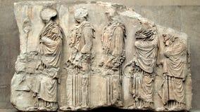 Parthenon Frieze, Elgin Marbles Stock Image