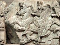 Parthenon Frieze, Elgin Marbles Stock Photos