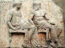 Parthenon Frieze, Elgin Marbles Stock Images