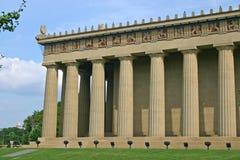 Parthenon Front Corner Photos stock