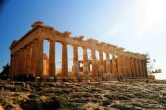 Parthenon Grecia Blu Sky Amazing de Athen Akropolis fotos de archivo