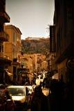 Parthenon Grecia Blu Sky Amazing de Athen Akropolis fotografía de archivo libre de regalías