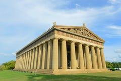 Parthenon i Nashville, Tennessee, USA Arkivfoto